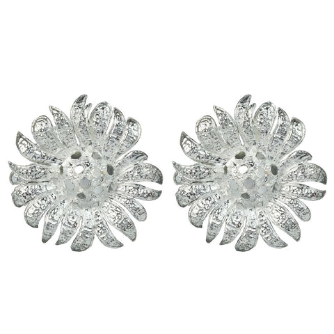 Rene Earrings Silver