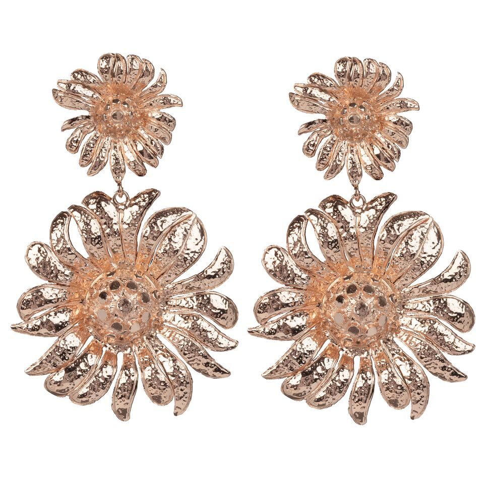 Azelia Earrings Rose Gold