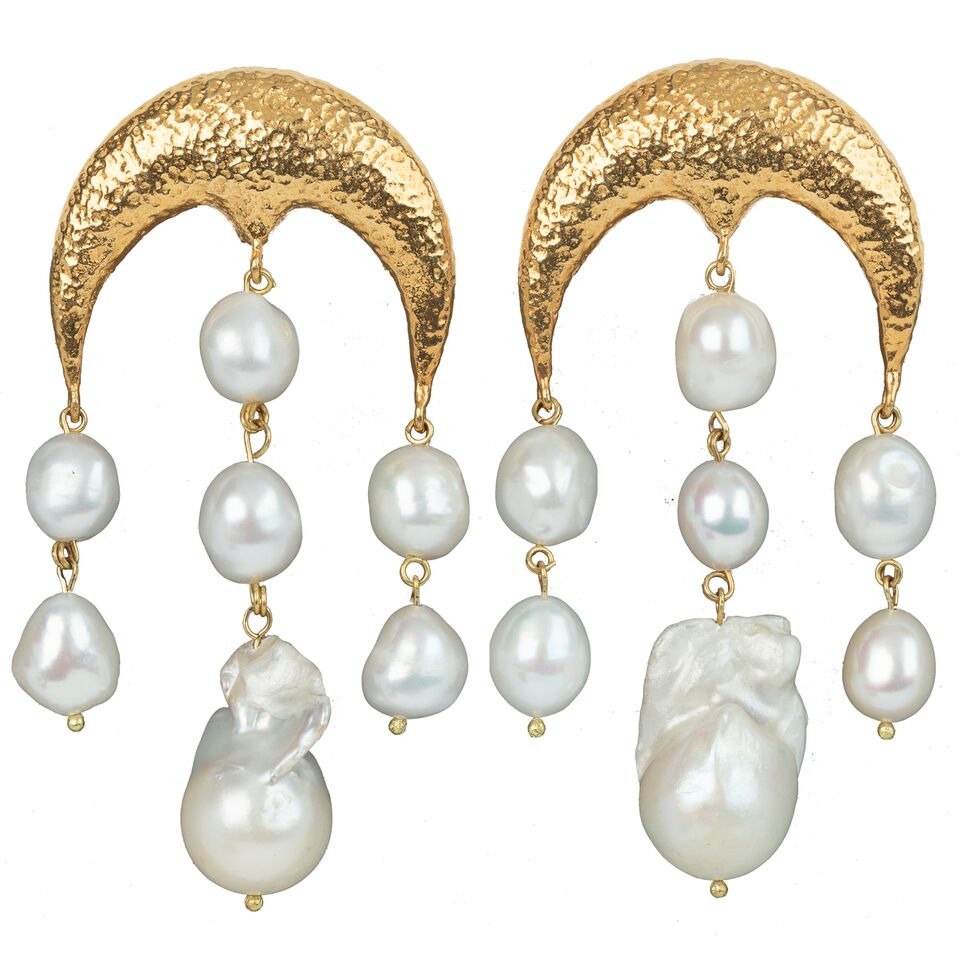 Estelle Earrings Gold