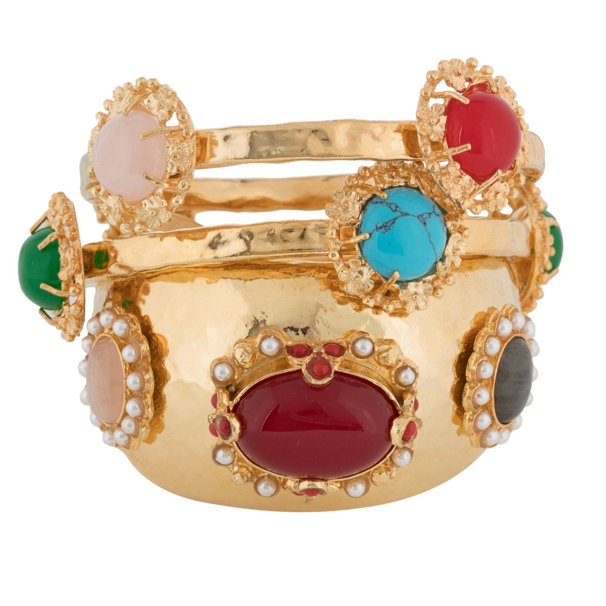 Benedetta Cuff Red/Multi