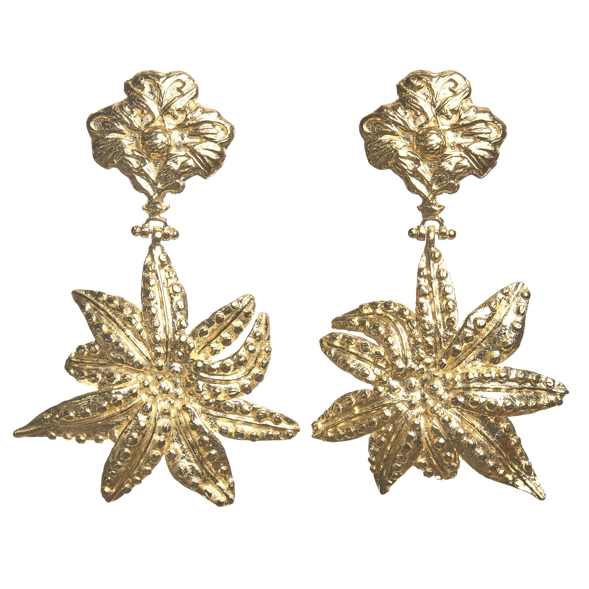 Oasis Earrings Gold