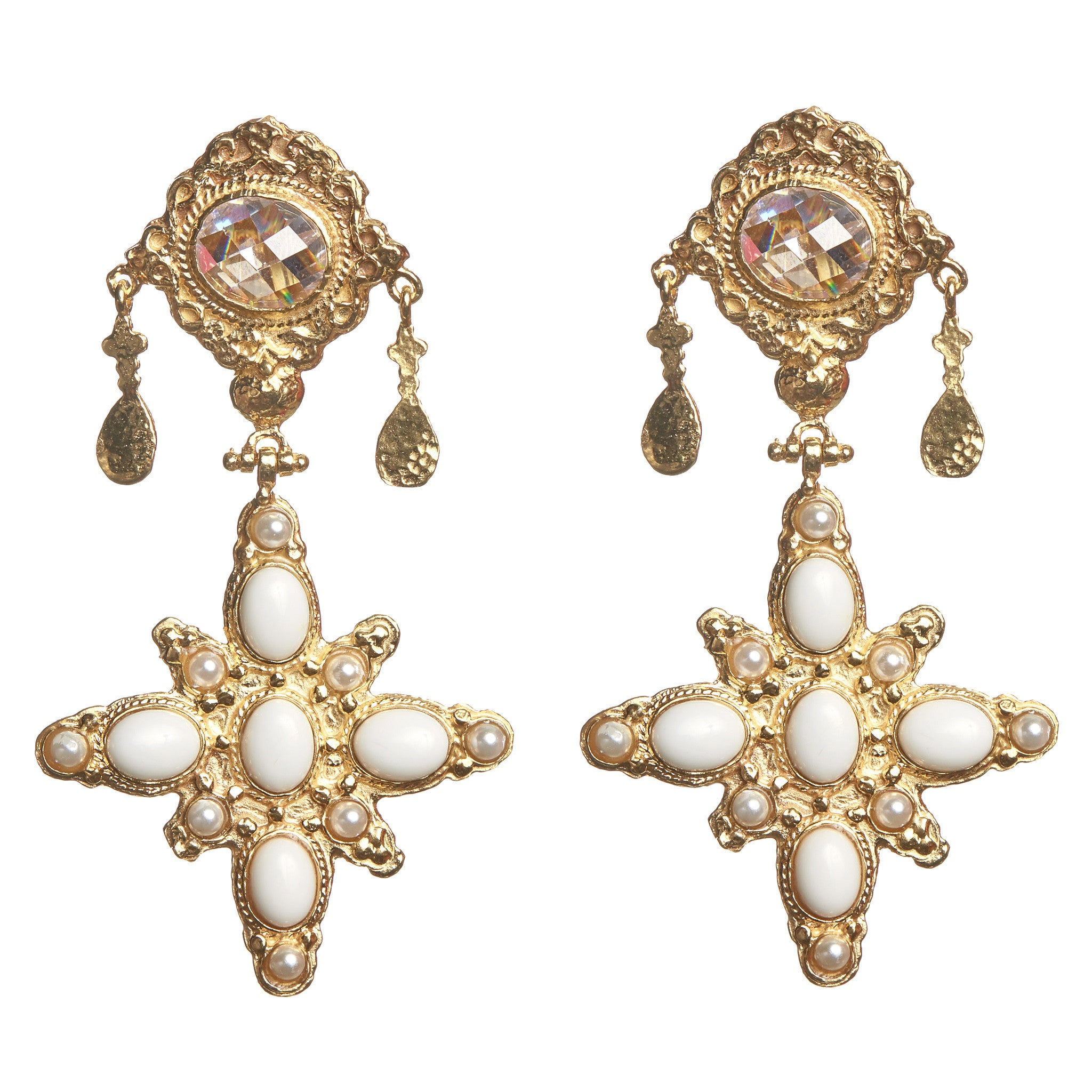 Pascale Earrings Gold