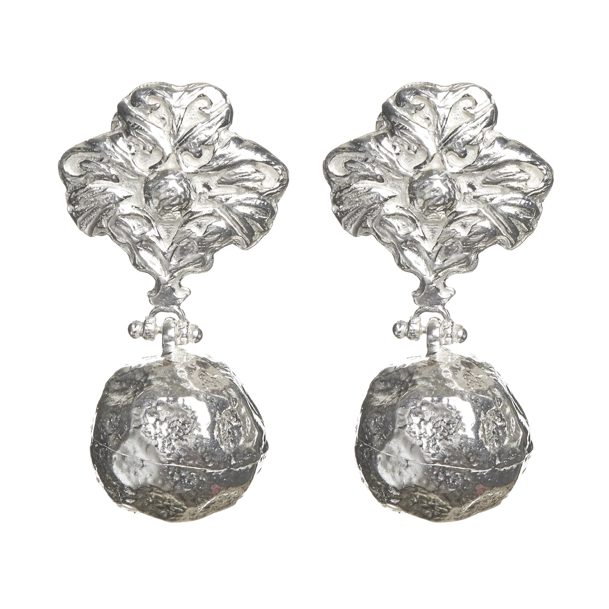Coco Earrings Silver