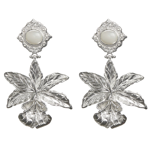 Aniella Earrings Silver