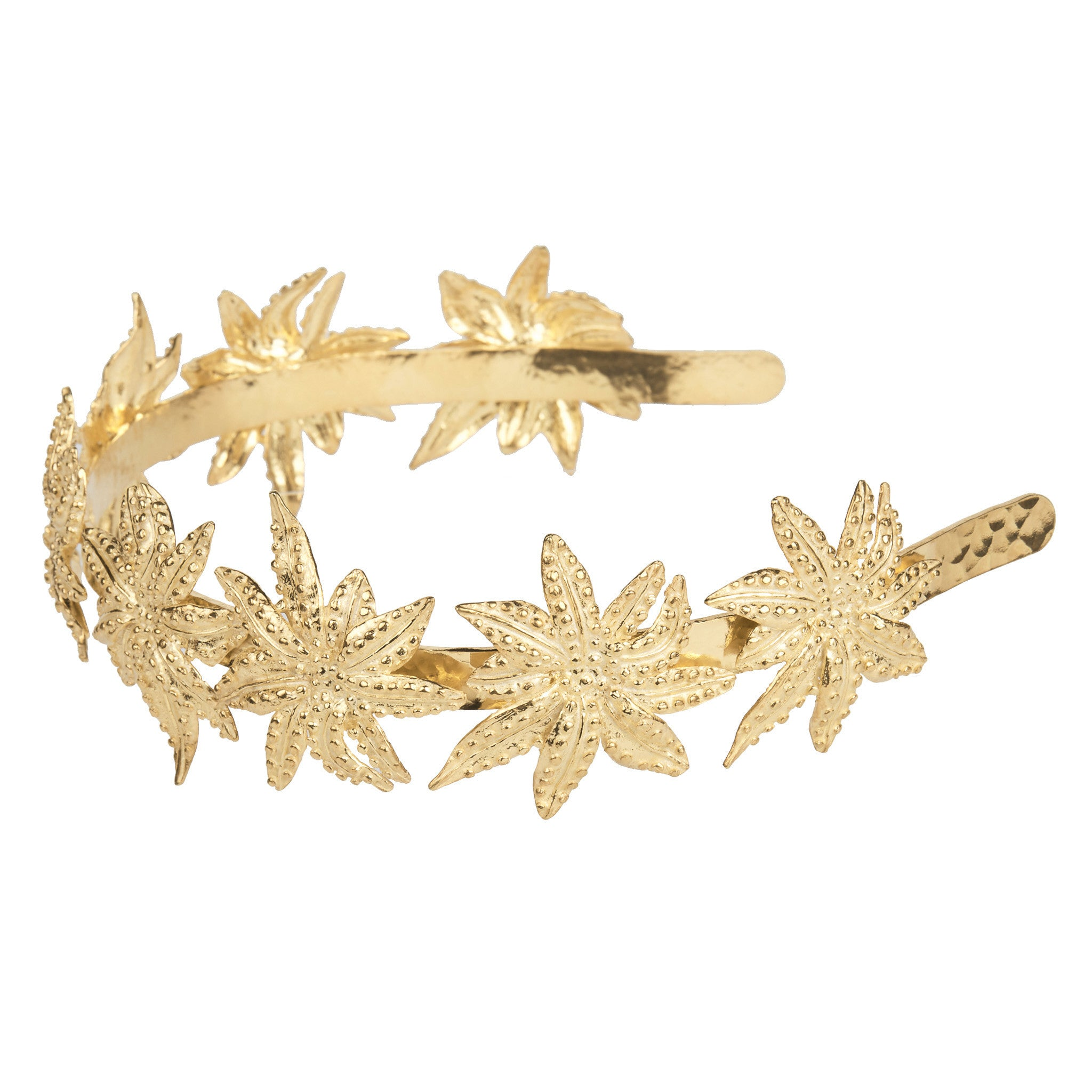 Palmier Headpiece Gold
