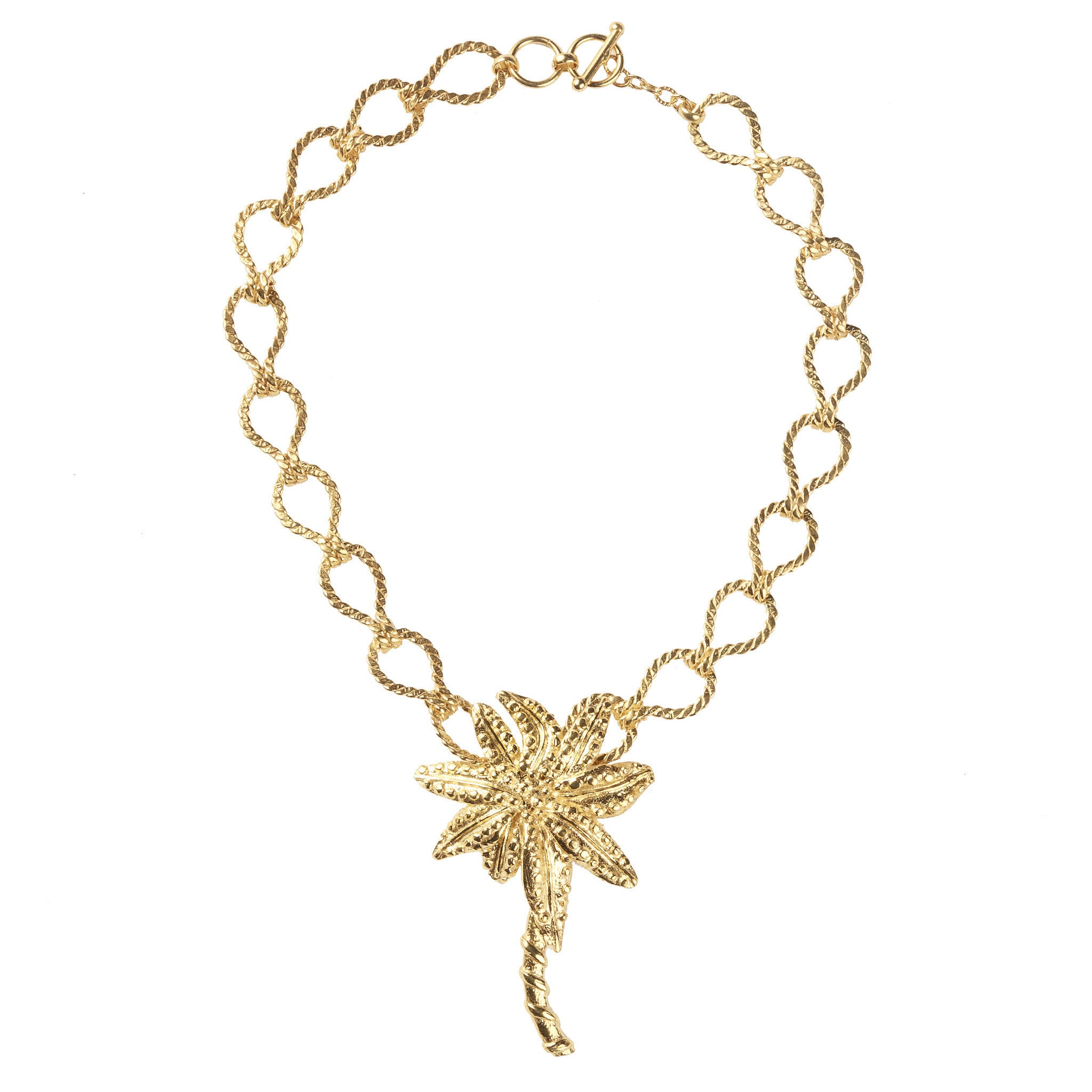Isola Necklace Gold