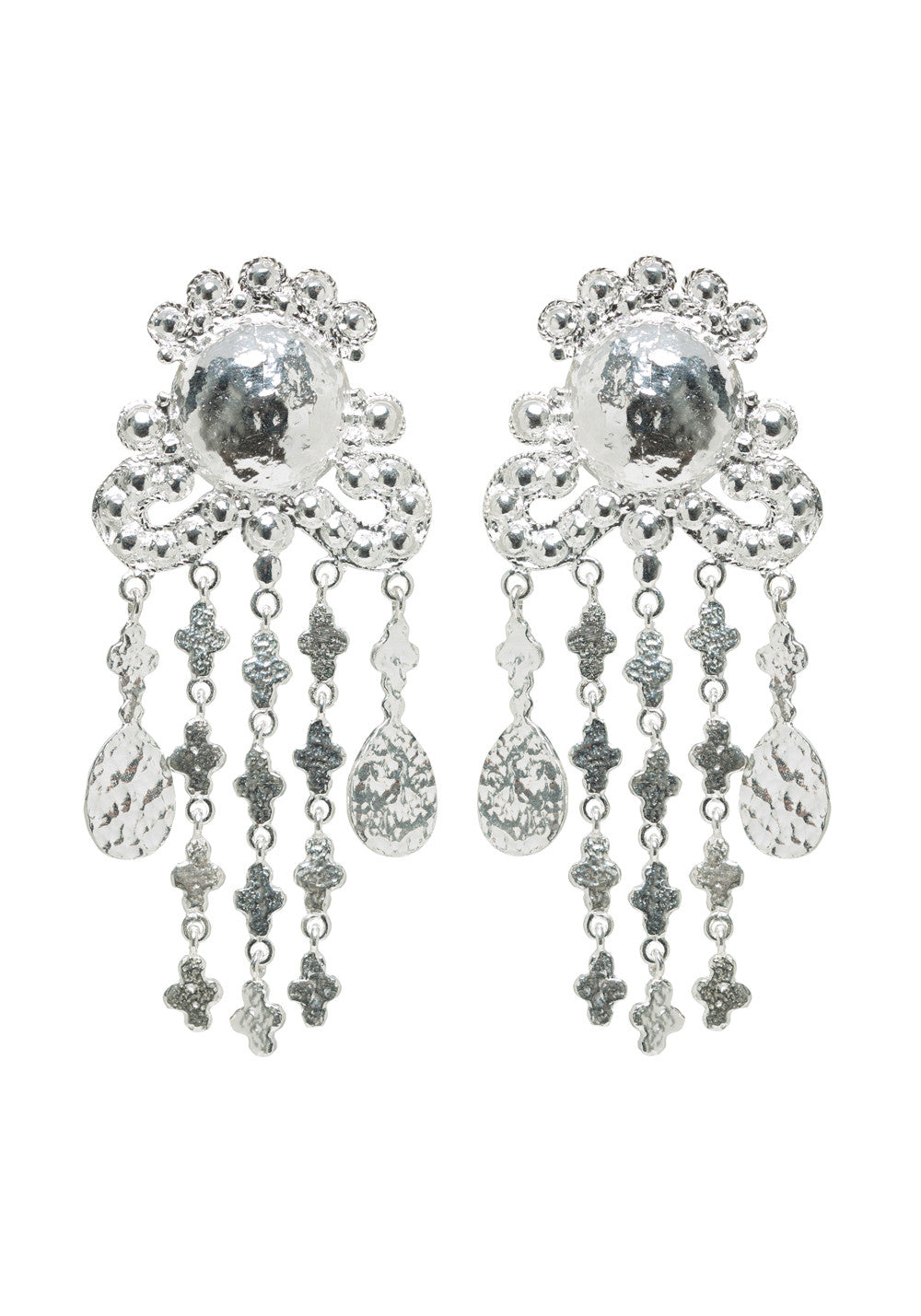 Euphemia Earrings Silver