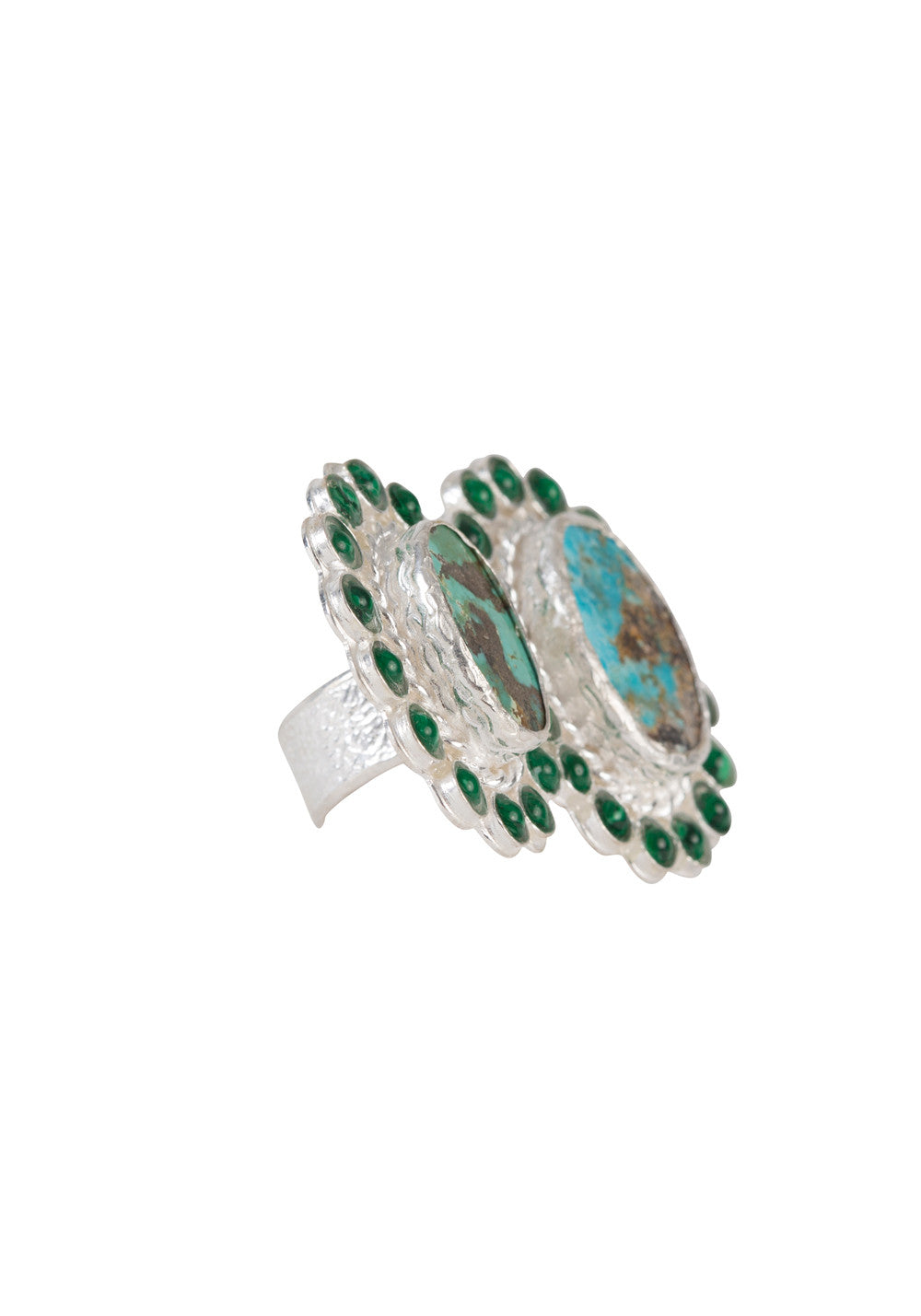 Arina Ring Silver & Turquoise