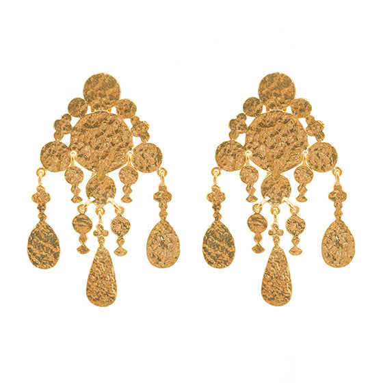 Cressida Earrings Gold