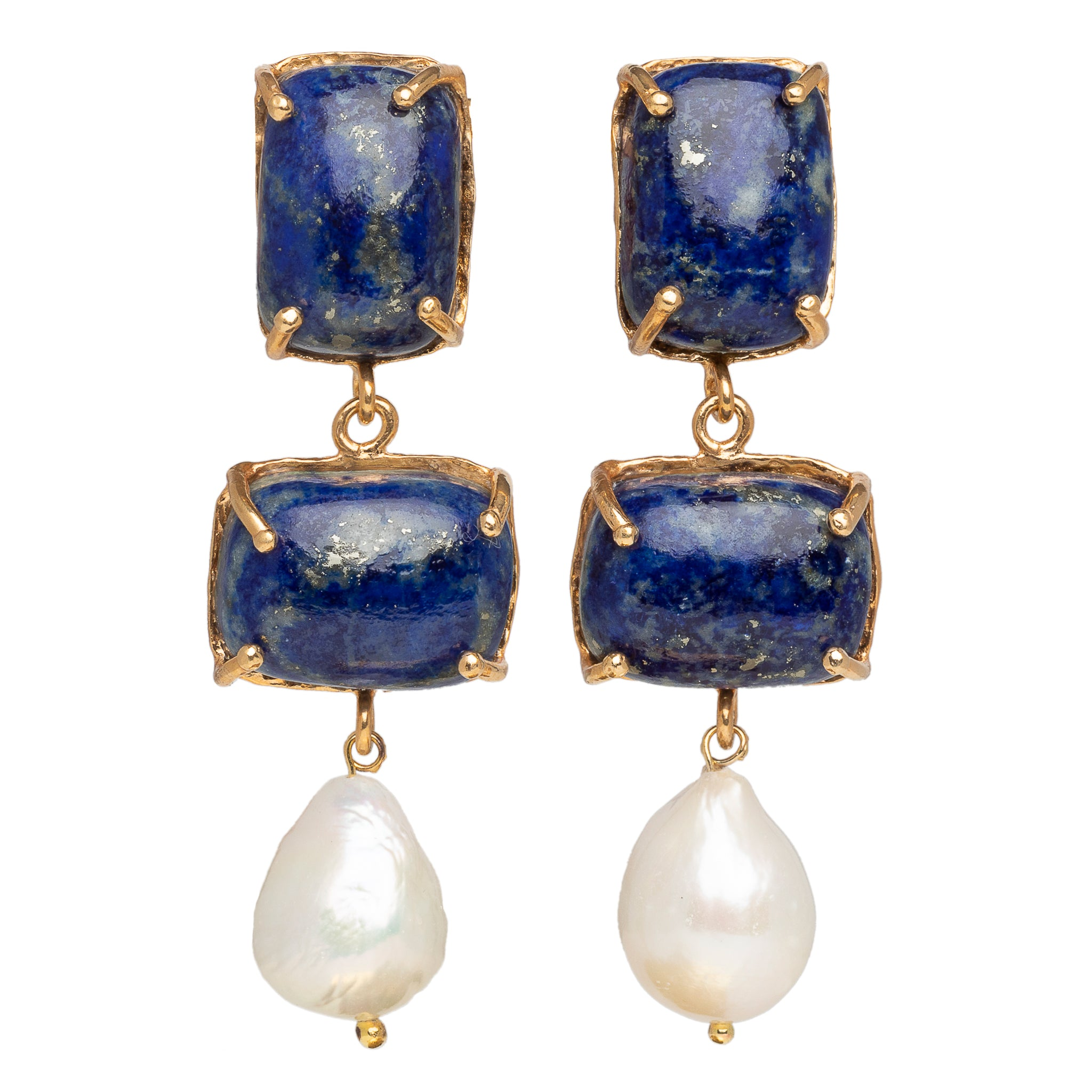 Loren Earrings Blue