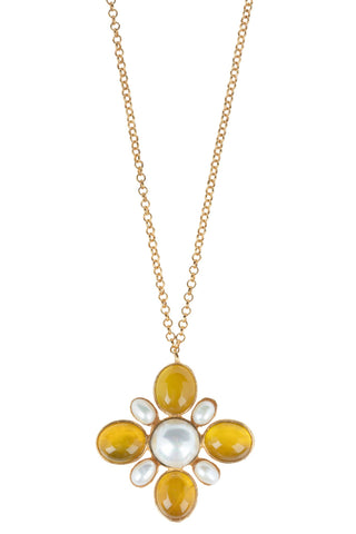 Miranda Necklace Yellow
