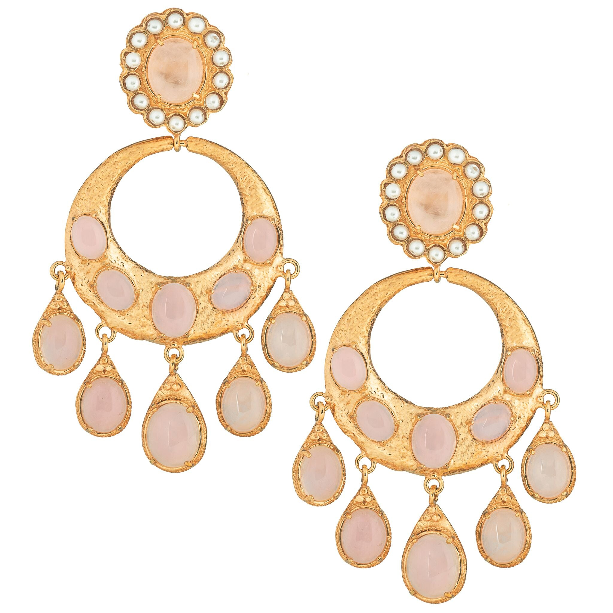 Senorita Earrings Pale Pink