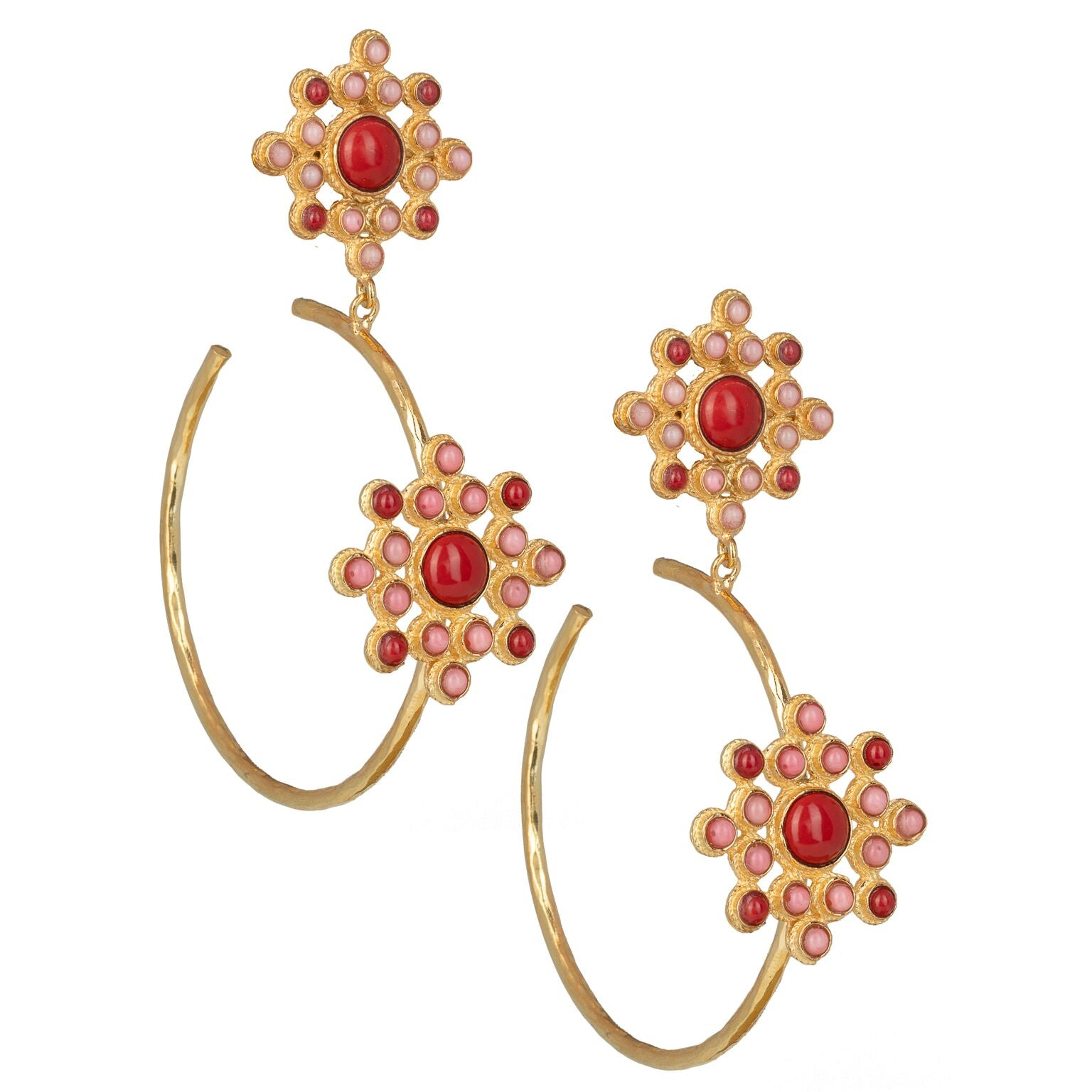 Rosamaria Hoops Red