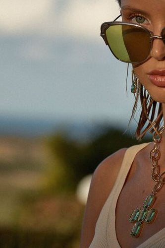 Gio Necklace Green