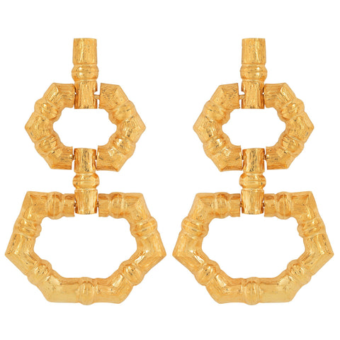 Velez Earrings Gold