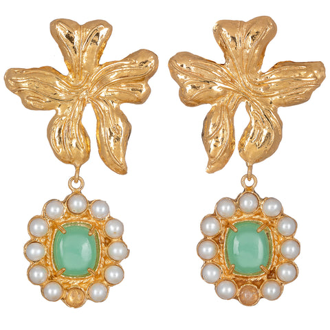 Isabella Earrings Mint