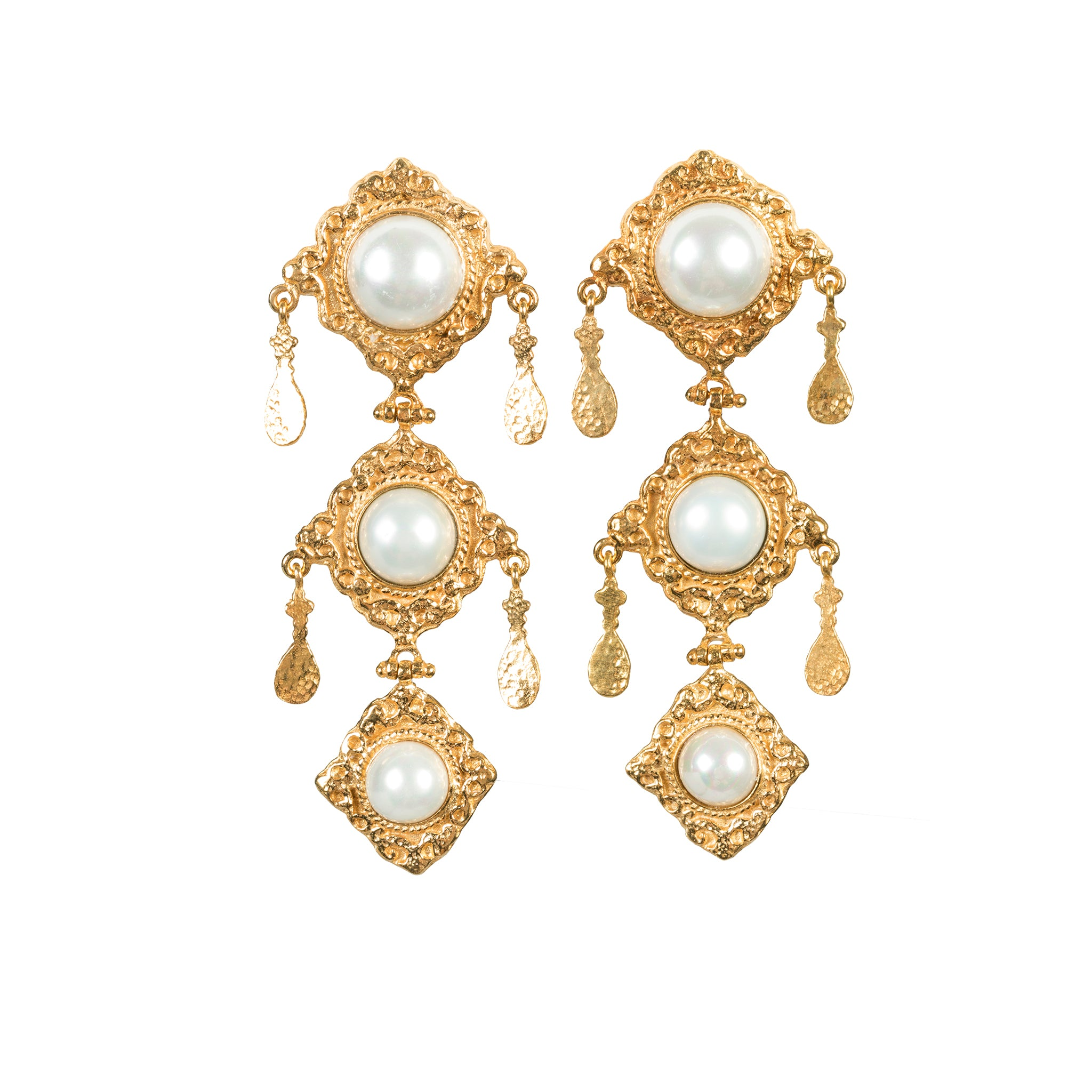 Anais Earrings Pearl