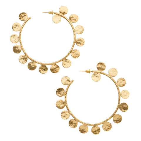 Maximina Earrings Gold