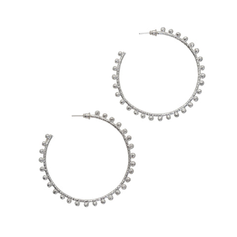 Dominica Earrings Silver