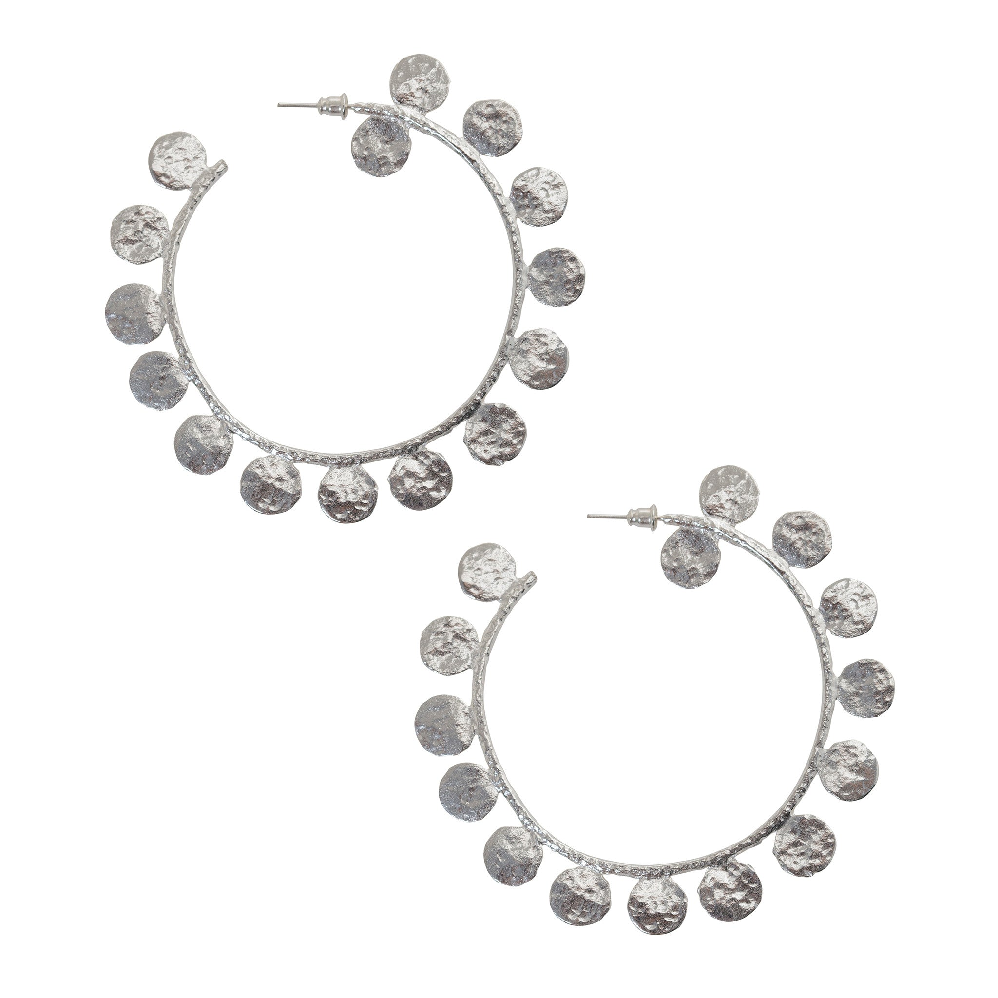 Maximina Earrings Silver