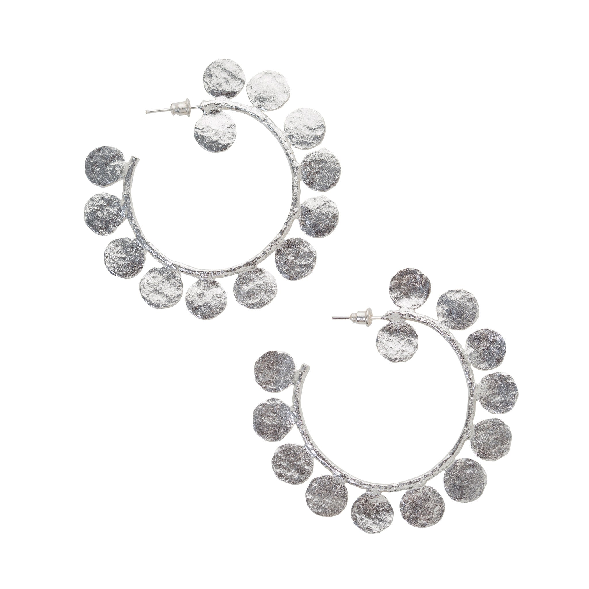 Ligo Earrings Silver