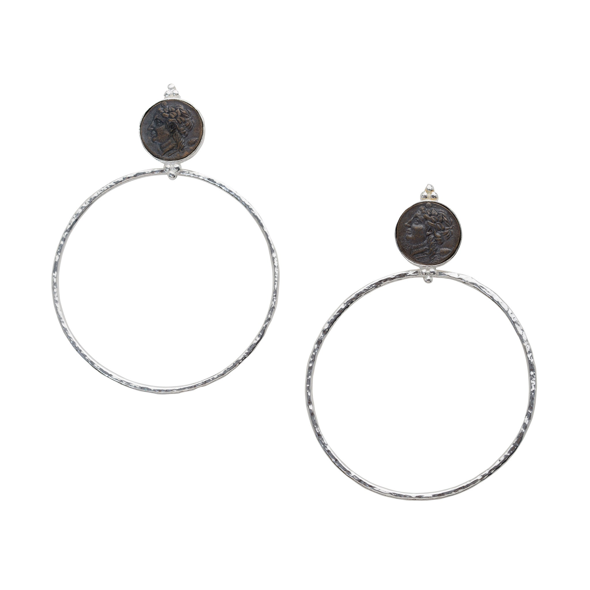Clementine Earrings Silver