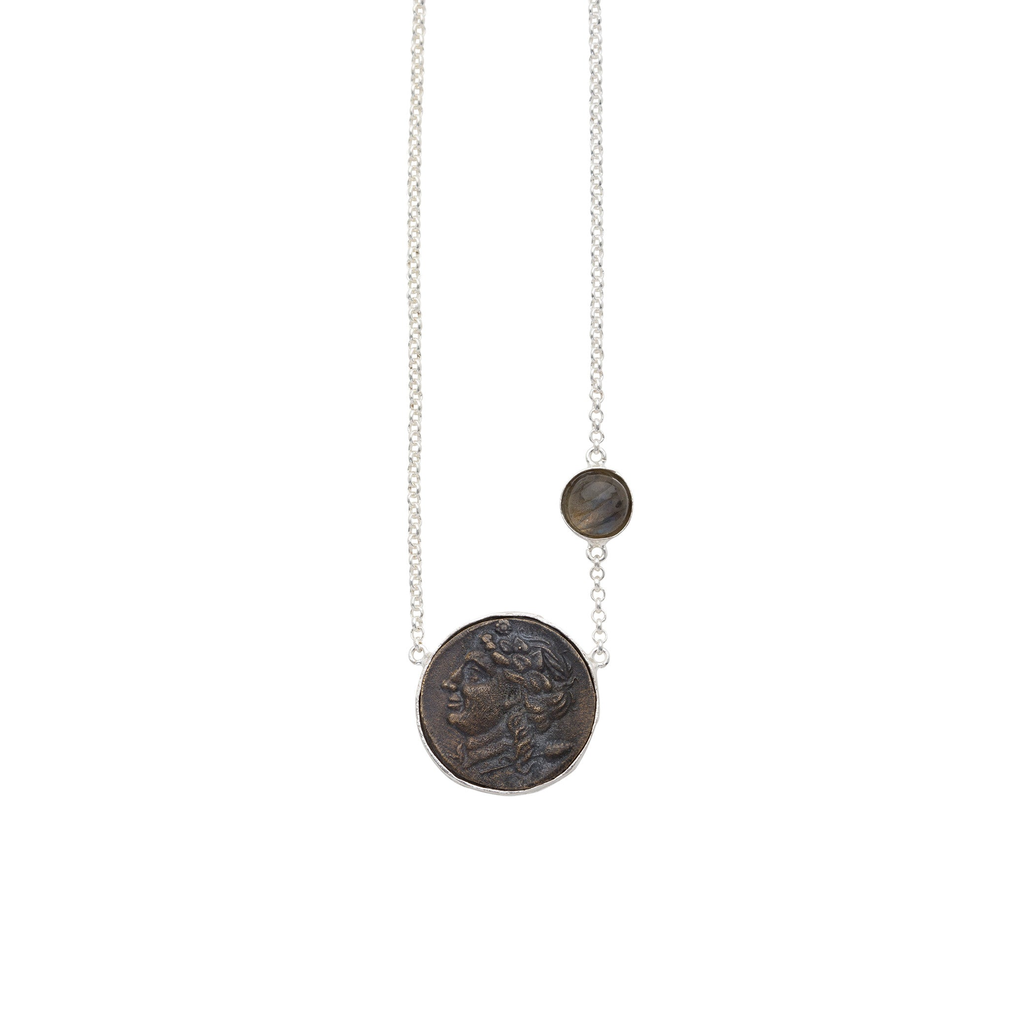 Nelle Necklace Silver