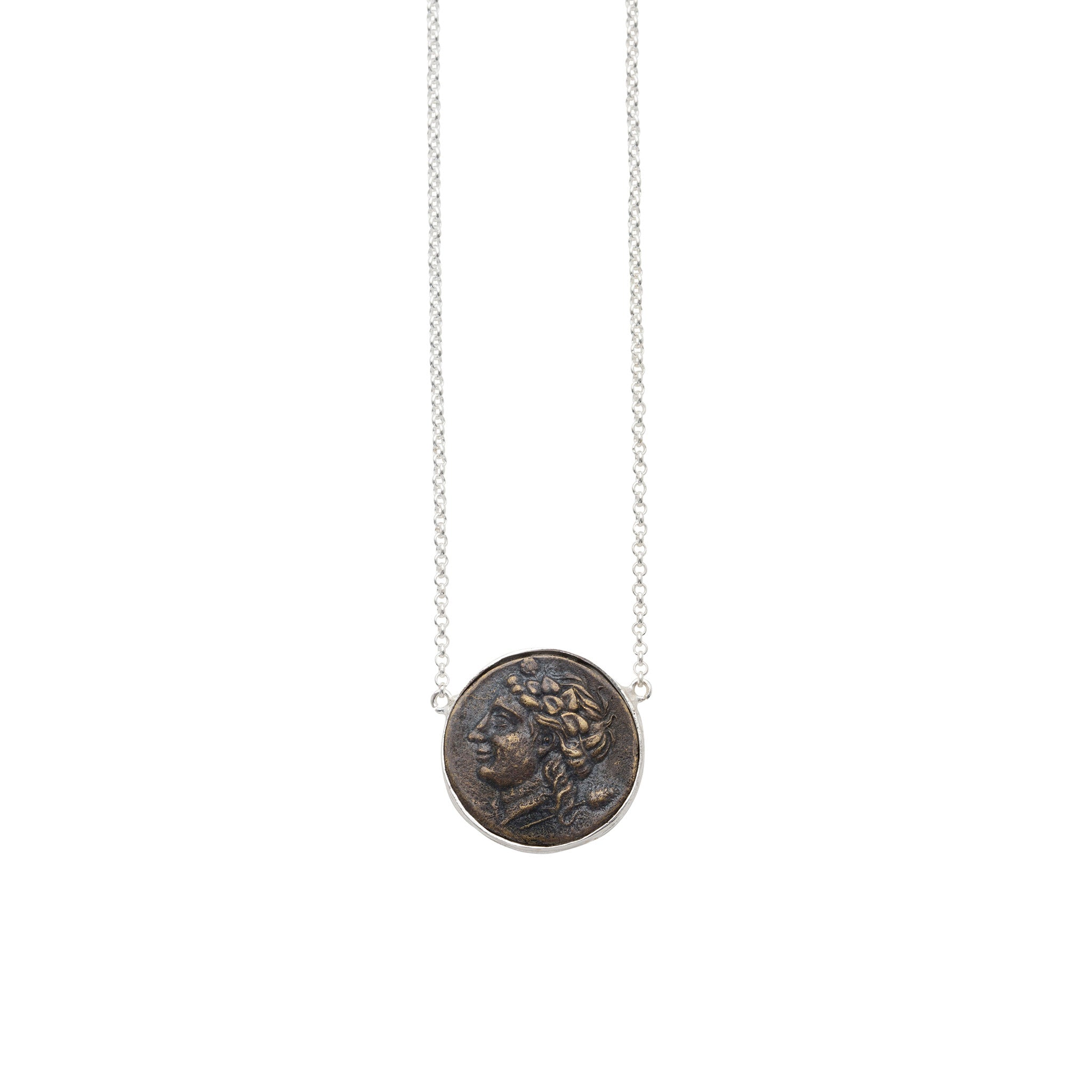 The Athene Necklace Silver