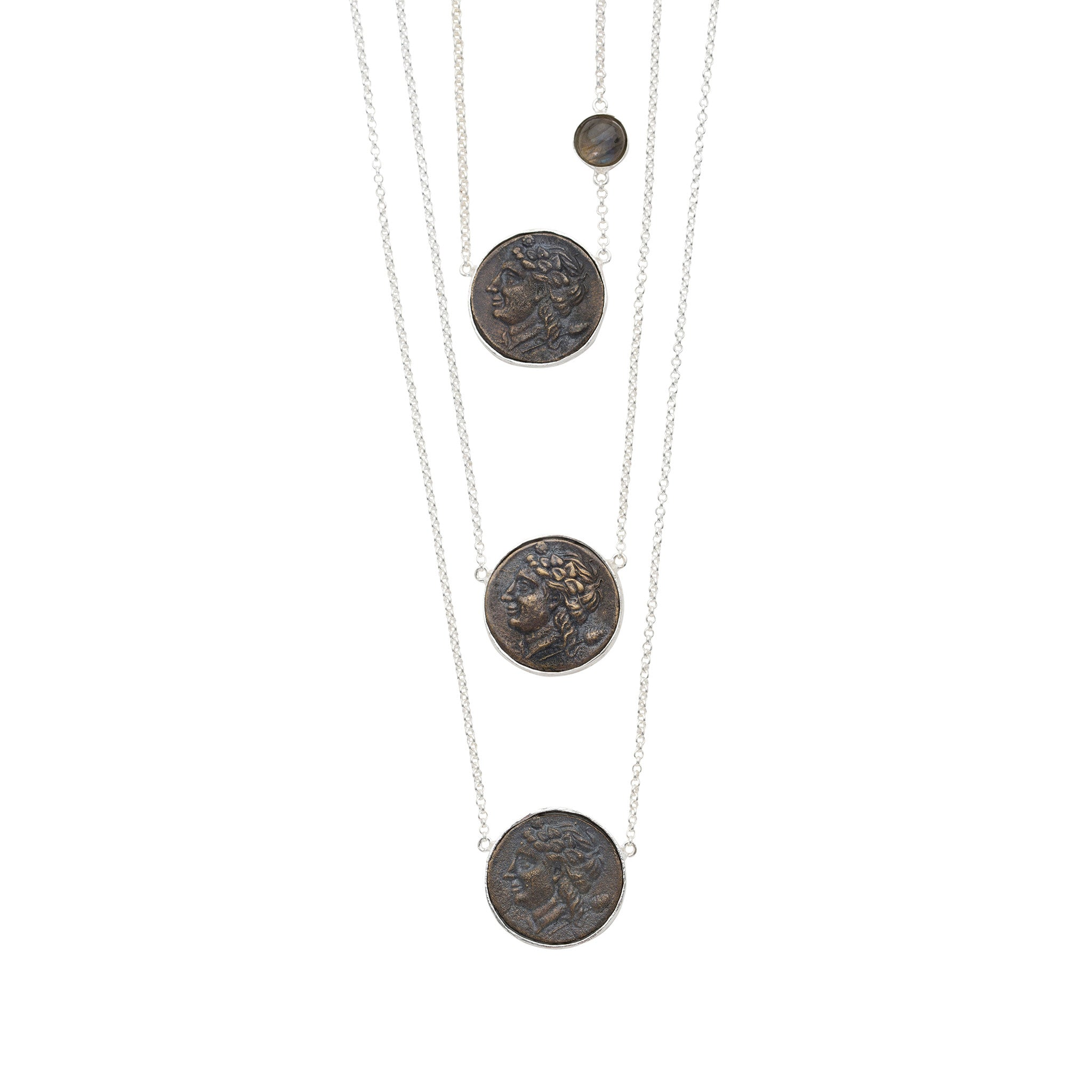 The Daria Necklace Silver