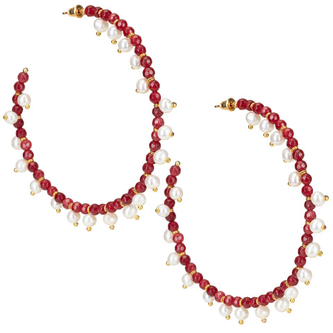 Ava Hoops Red