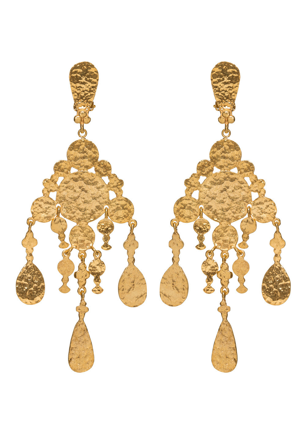 Alina Earrings Gold
