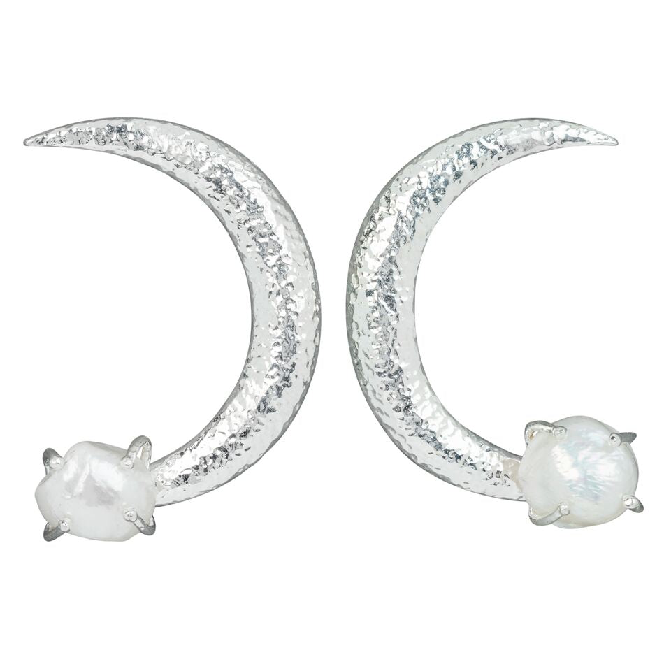 Ariel Earrings Silver