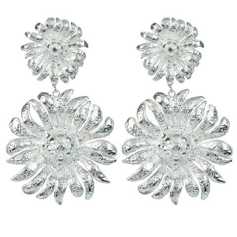 Azelia Earrings Silver
