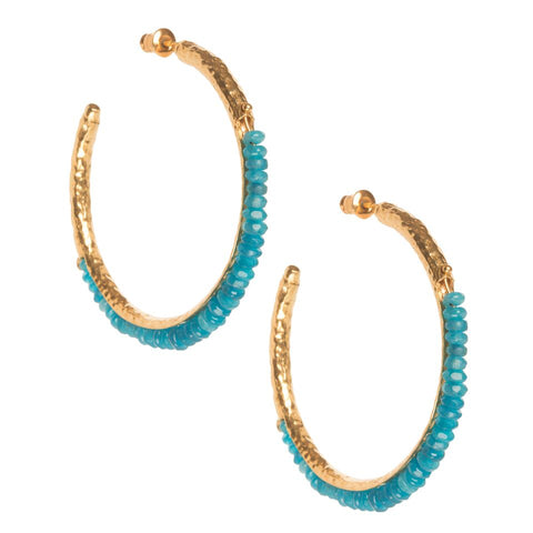 Frida Hoops Blue