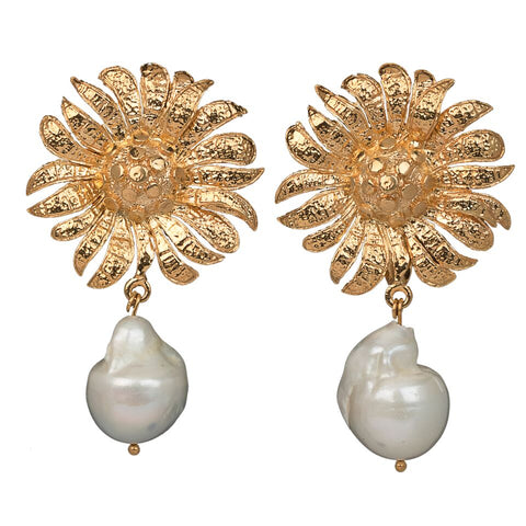Antonella Earrings Gold
