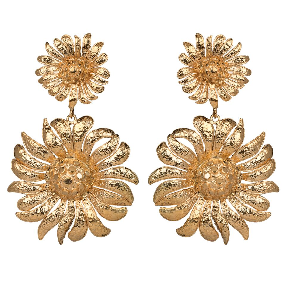 Azelia Earrings Gold