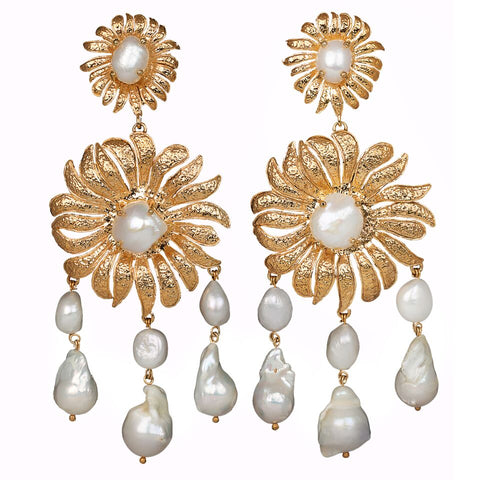 Chloe Earrings Gold
