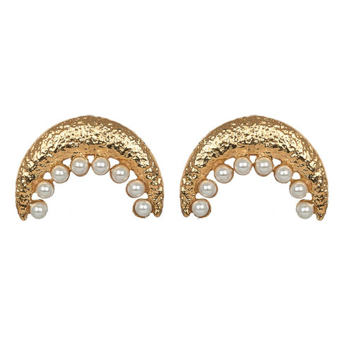 Livana Earrings Gold