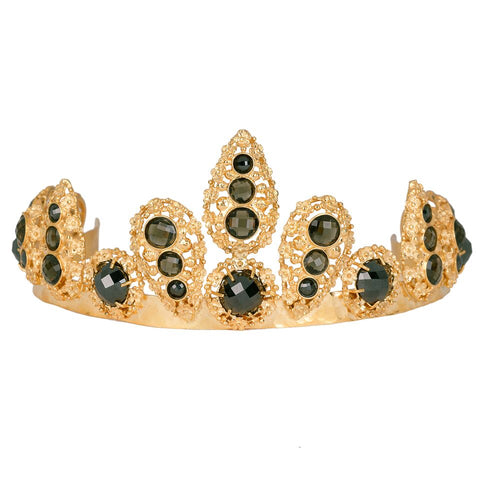 Caterina Crown Black & Green