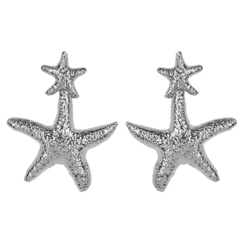 Stella Earrings Silver