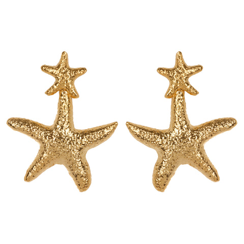 Stella Earrings Gold