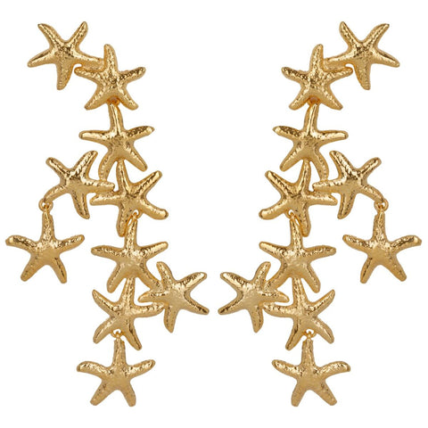 Salacia Earrings Gold