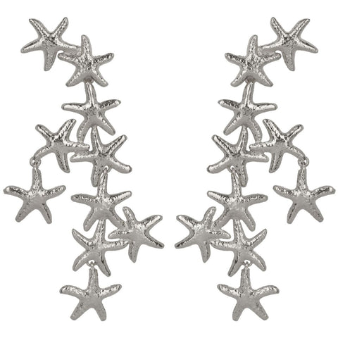Salacia Earrings Silver