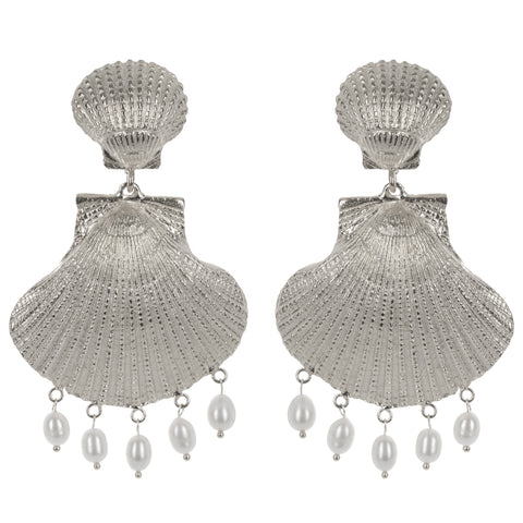 Roccoco Earrings Silver