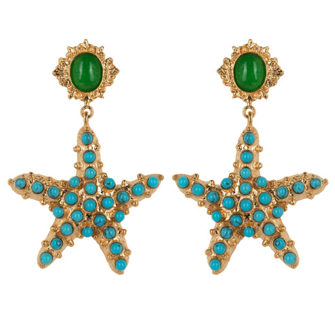 Sofia Earrings Turquoise