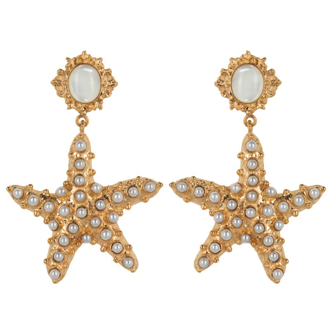 Sofia Earrings Pearl