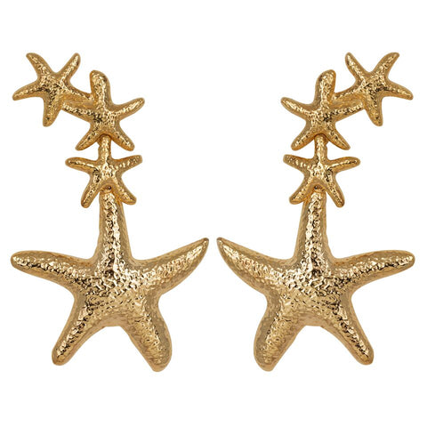 Sebastiene Earrings Gold