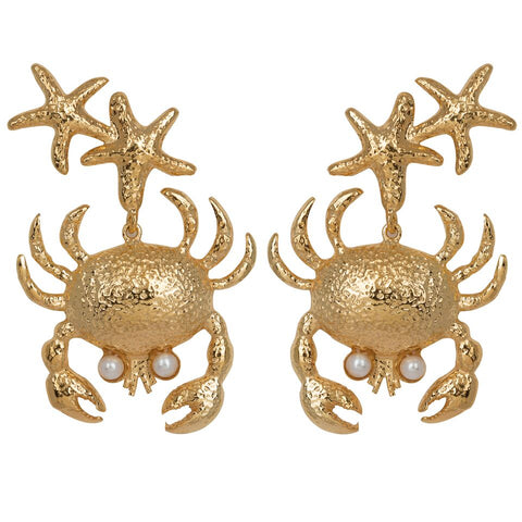Corisia Earrings Gold