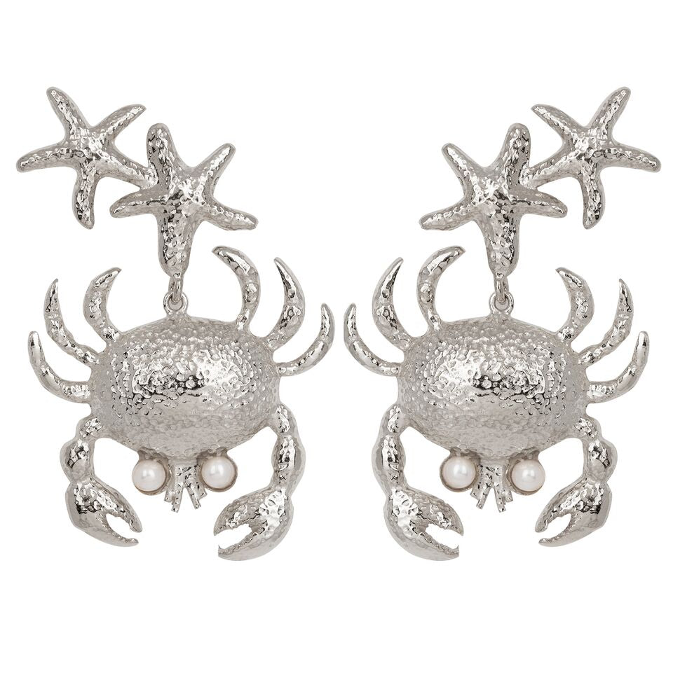Corisia Earrings Silver
