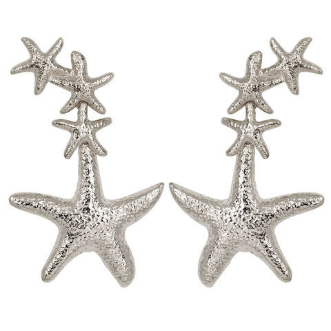 Sebastiene Earrings Silver